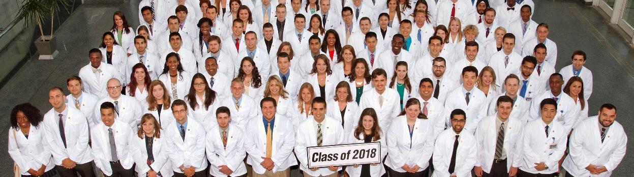 white coat students